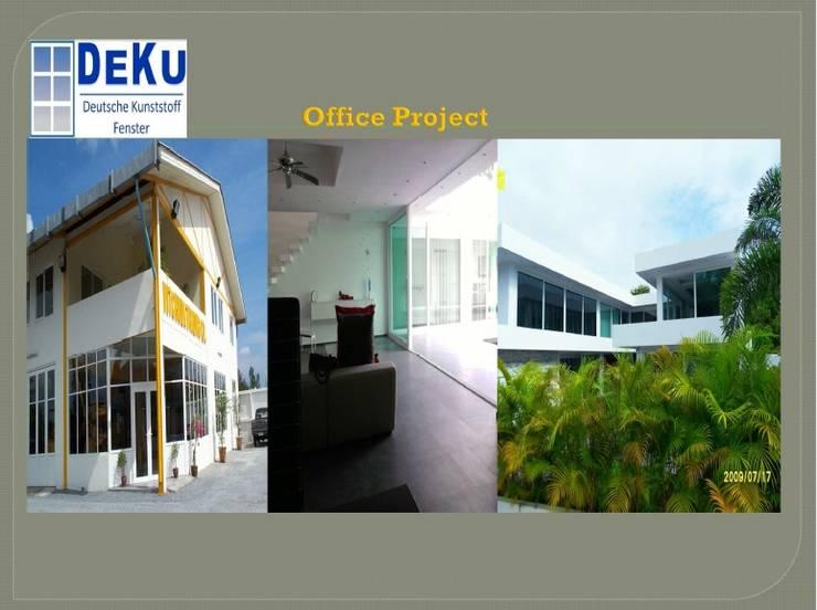 Office Project:  อาคารสำนักงาน by DeKu German Windows Co.,ltd