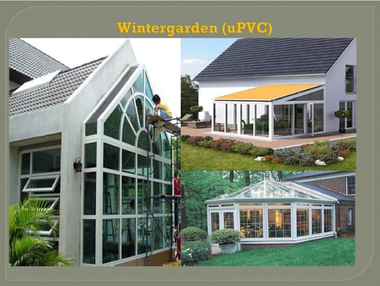 Garden House Project:  อาคารสำนักงาน by DeKu German Windows Co.,ltd