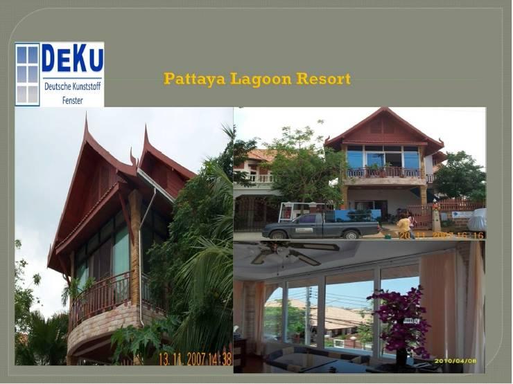 Resort Project:  โรงแรม by DeKu German Windows Co.,ltd