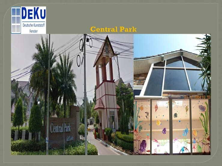 Housing project:  อาคารสำนักงาน by DeKu German Windows Co.,ltd