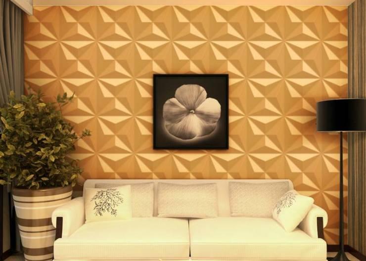 Tiết kiệm chi phí xây dựng nhờ ốp tường nhựa và một số lưu ý khi ốp:  Artwork by Công ty TNHH truyền thông nối việt