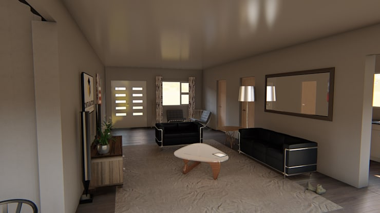 2/3 bedroom modular container home:   by ContainaTech
