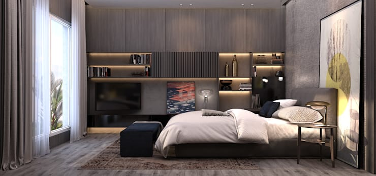 Bedroom by STUDIO PARADIGM