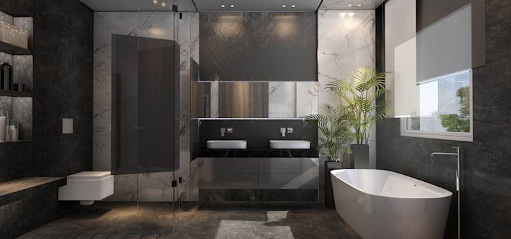 Bathroom by STUDIO PARADIGM