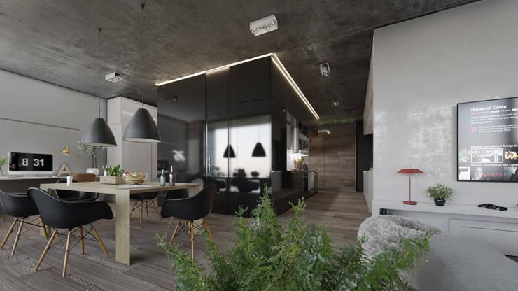 Living room by Oscar Hernández - Fotografía de Arquitectura, Modern