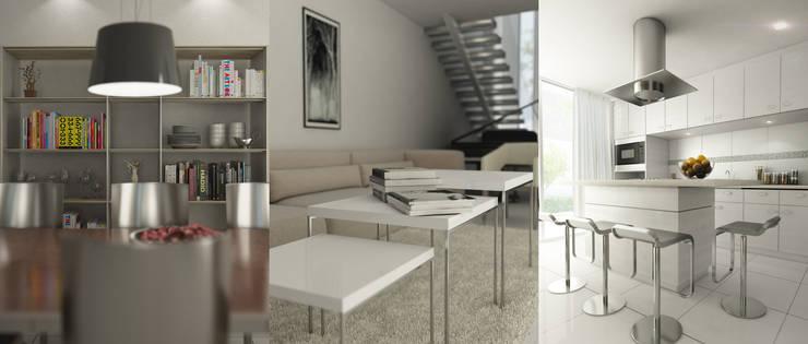 Dining room by Oscar Hernández - Fotografía de Arquitectura, Modern