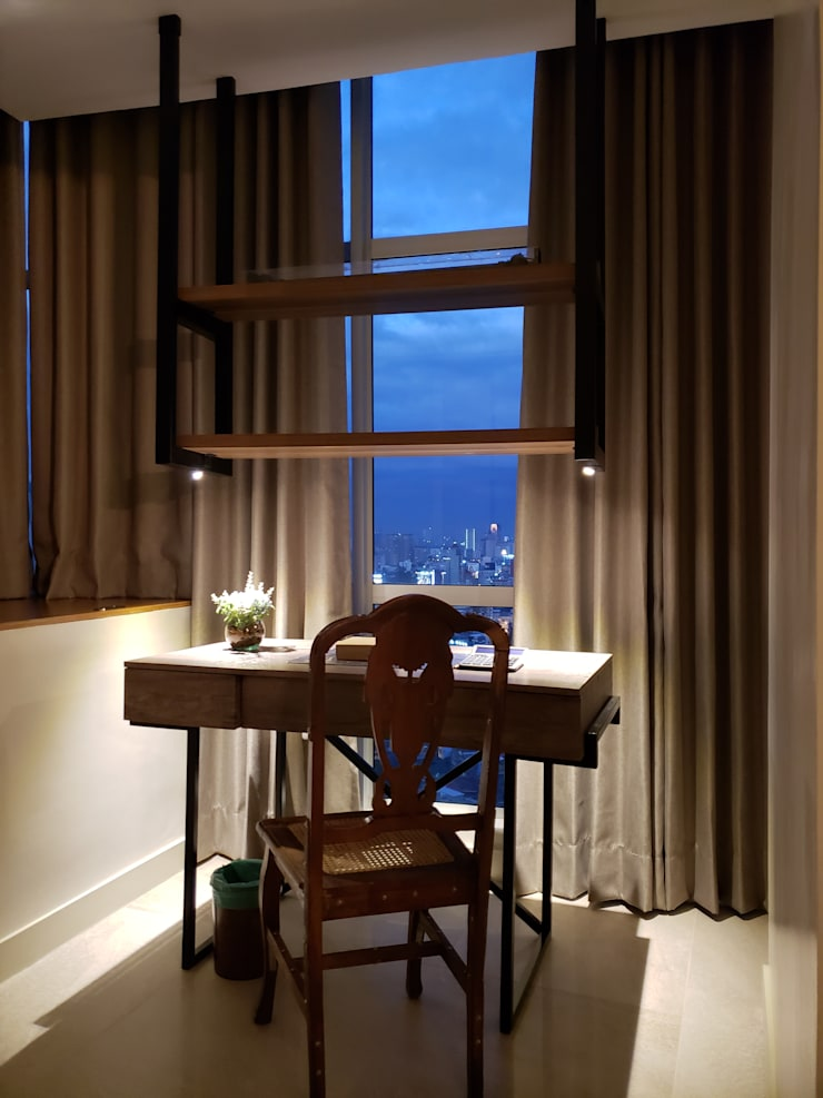 Sapphire Residences:  Study/office by Geraldine Oliva