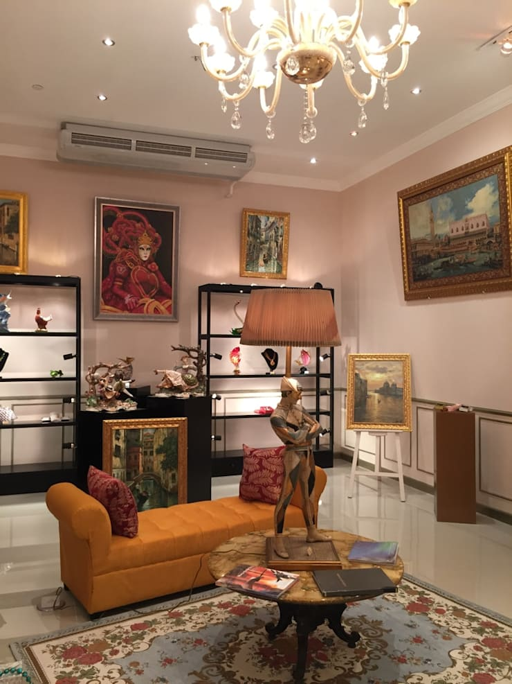 Venetian Dream:  Commercial Spaces by Geraldine Oliva,
