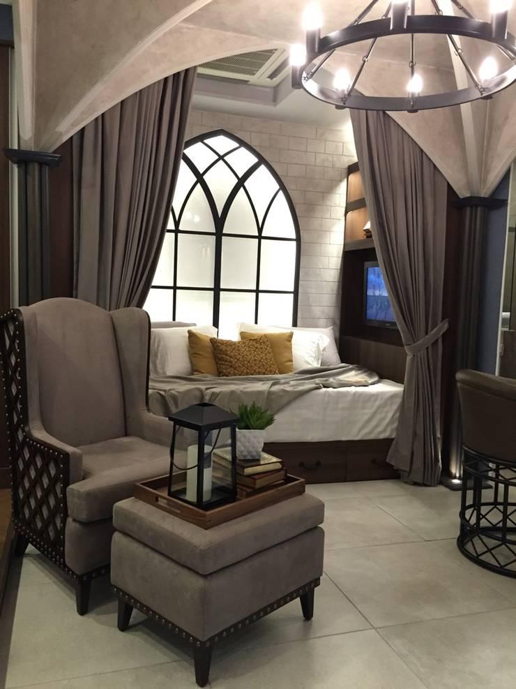 Neo gothic exhibit:  Living room by Geraldine Oliva