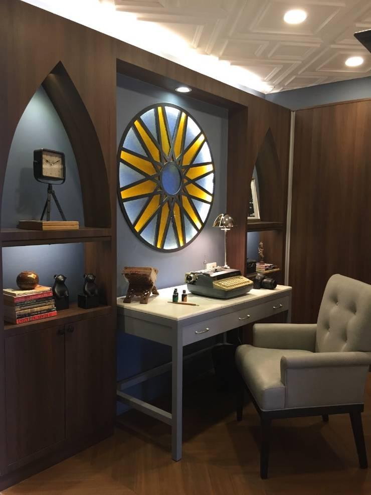 Neo gothic exhibit:  Study/office by Geraldine Oliva