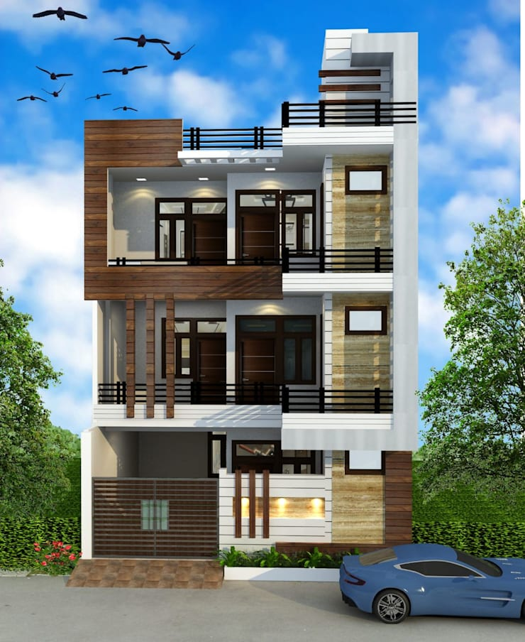 Home Design Exterior Ideas In India: HPL (High Pressure Laminates) By