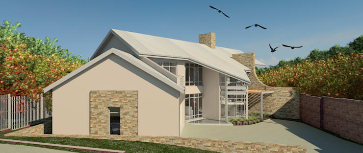 VIEW FROM THE EAST (As you enter via the pan handle):  Bungalows by Nuclei Lifestyle Design