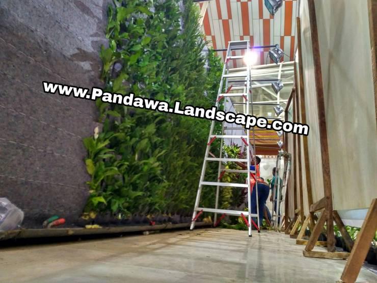 Jasa vertical garden surabaya :  Garden  by Pandawa Landscape