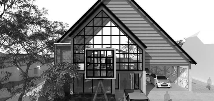 Mr. Khoirul Business Place:  Ruang Komersial by Atap Rumah Studio