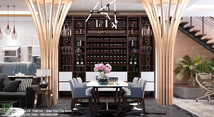 BIỆT THỰ - PARIS - VINHOES - IMPERIA HẢI PHÒNG:   by công ty cổ phần Thiết kế Kiến trúc Việt Xanh