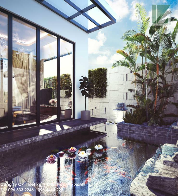 BIỆT THỰ – PARIS – VINHOES – IMPERIA HẢI PHÒNG:   by công ty cổ phần Thiết kế Kiến trúc Việt Xanh