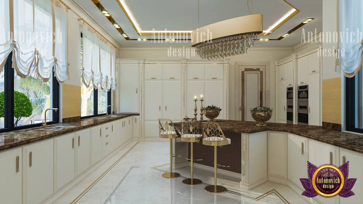 Unique Kitchen Decor:   by Luxury Antonovich Design