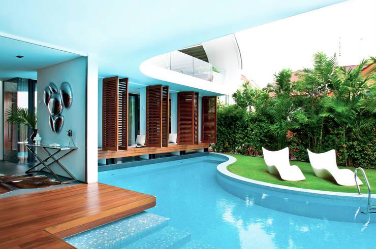 Garden Pool by Design Intervention