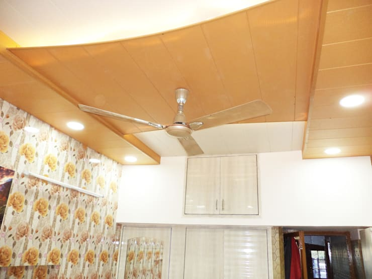 Interior Project completed:  Bedroom by Mohali Interiors,Modern