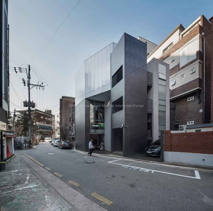합정 면면면(面綿丏) _ Myun, Myun, Myun(Façade,Connect,Screen): 씨:드 아키텍츠 (CIID Architects)의  ,