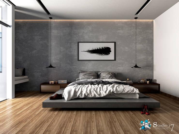 MASTER BEDROOM: Dormitorios de estilo  por Studio17-Arquitectura