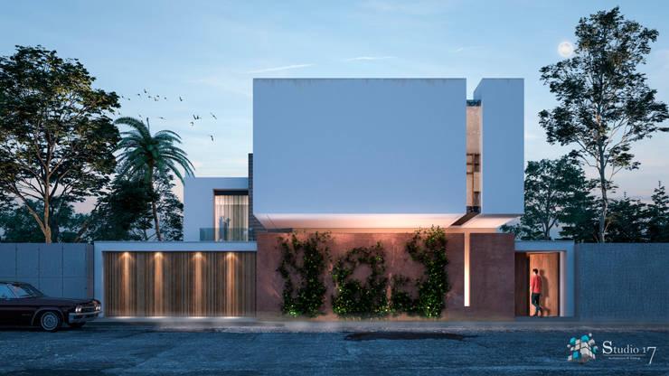 FACADE: Casas de estilo  por Studio17-Arquitectura