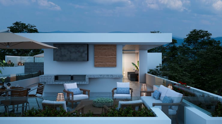 TERRACE: Anexos de estilo  por Studio17-Arquitectura