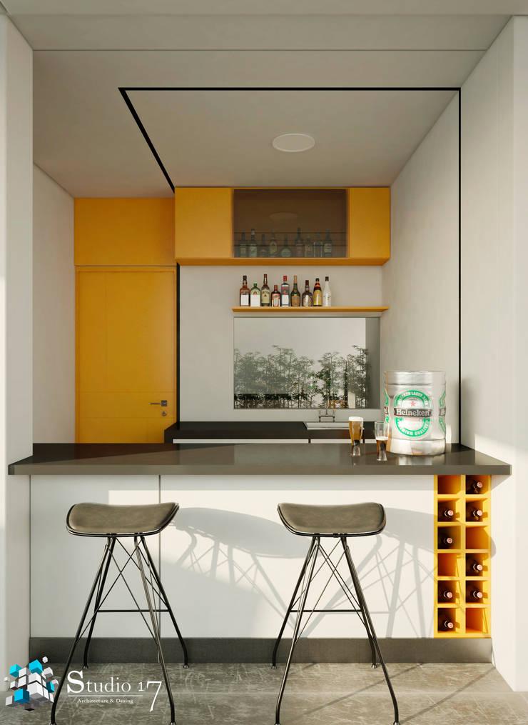 BAR: Bodegas de vino de estilo  por Studio17-Arquitectura
