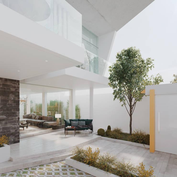 INTERIOR: Terrazas de estilo  por Studio17-Arquitectura