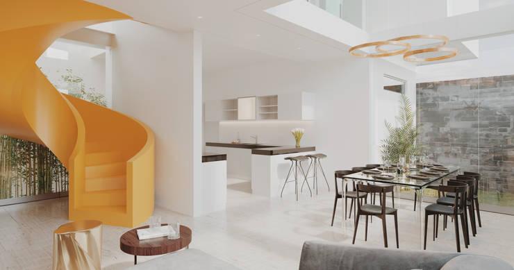 DINNING ROOM: Comedores de estilo  por Studio17-Arquitectura