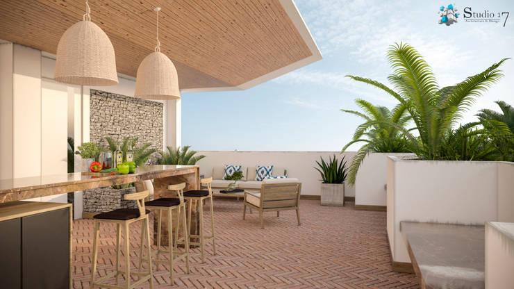 TERRACE: Terrazas de estilo  por Studio17-Arquitectura
