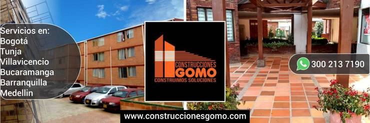 Construcciones: Casas de estilo  por Construcciones Gomo S.A.S