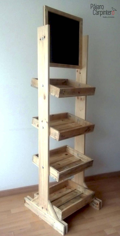 Mueble exhibidor: Oficinas y tiendas de estilo  por Pájaro Carpintero