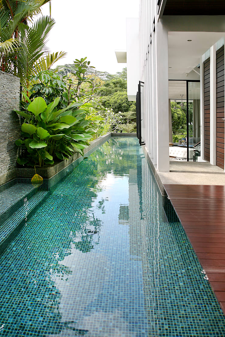 Garden Pool by Design Intervention