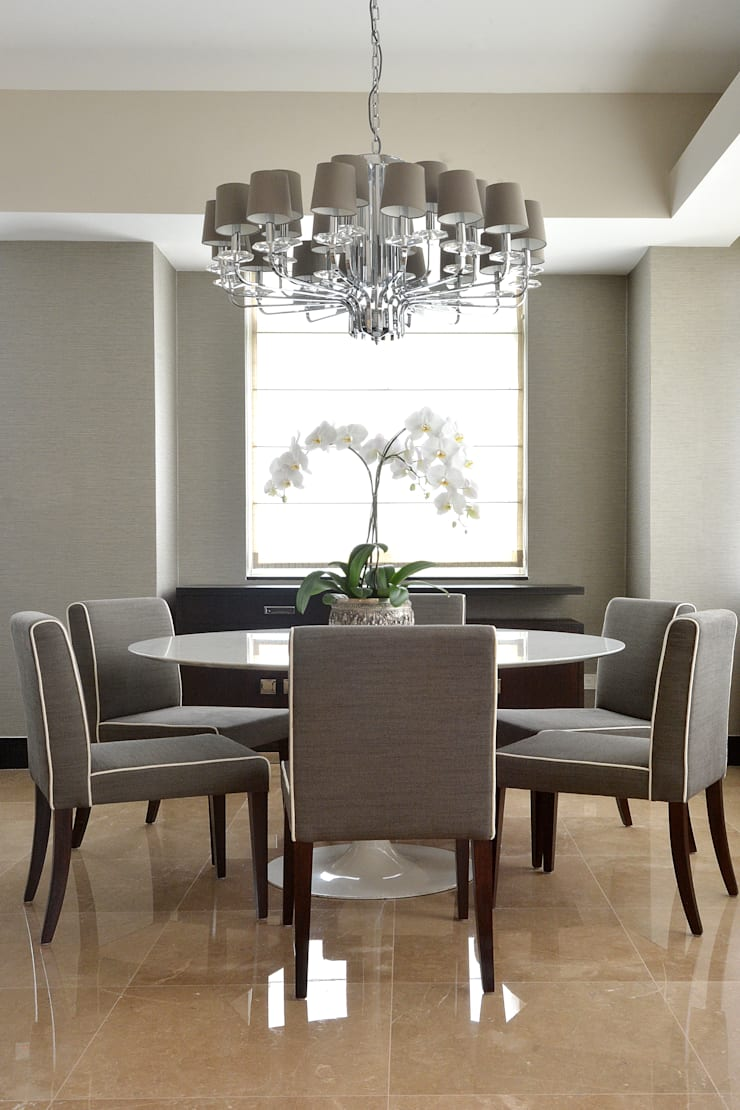 Dining room by Design Intervention, Modern