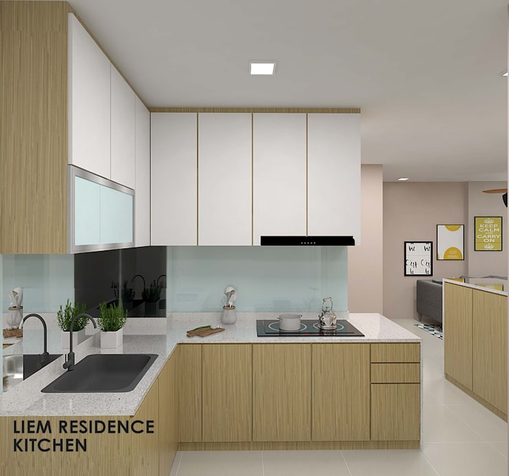 Buangkok Link:  Built-in kitchens by Swish Design Works