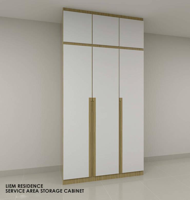 Buangkok Link:  Bedroom by Swish Design Works
