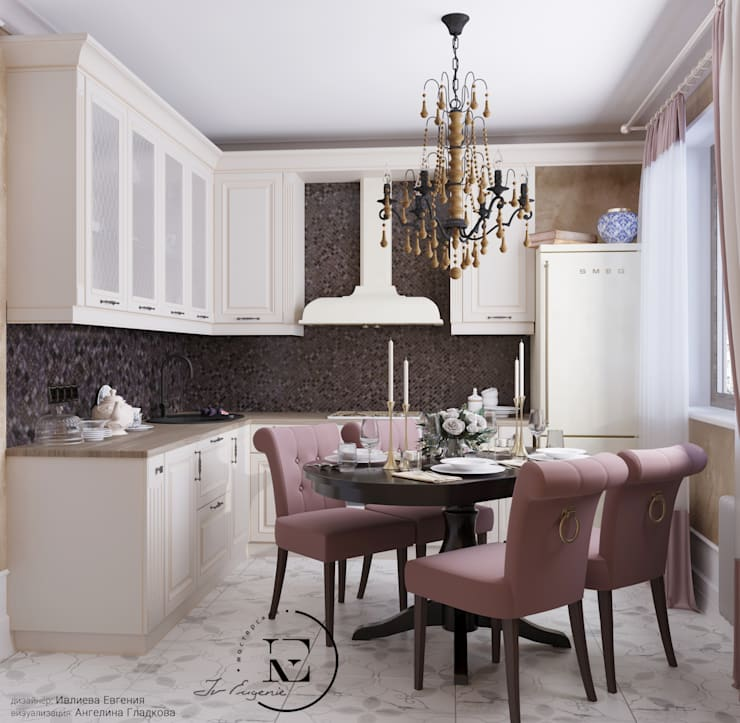 Built-in kitchens by Iv-Eugenie