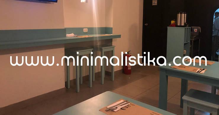 Diseño e Implementación de local Don Chicha en centro de Lima de Minimalistika.com Minimalista Aglomerado