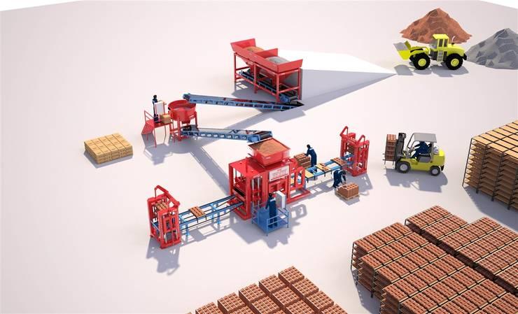 مصنع بلوك :  شركات تنفيذ BEYAZLI GROUP