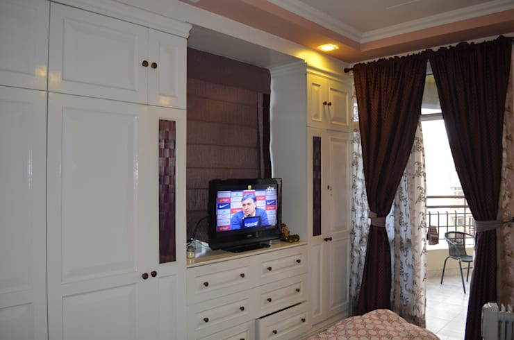 Eldeco - 704, Indrapuram:  Bedroom by Neun designs Pvt.Ltd.