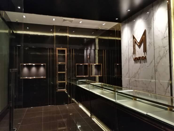 งานตกแต่งร้าน M Money 24:  ตกแต่งภายใน by Interior 92 Co.,Ltd.