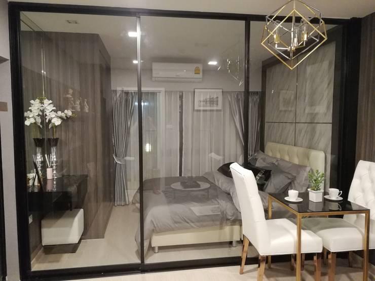 Condominium:  ตกแต่งภายใน by Interior 92 Co.,Ltd.