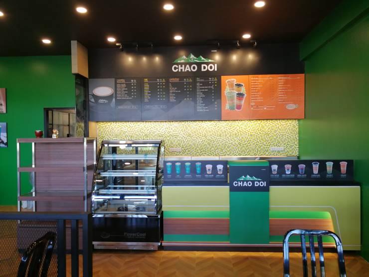 Chao Doi Coffee :  ตกแต่งภายใน by Interior 92 Co.,Ltd.