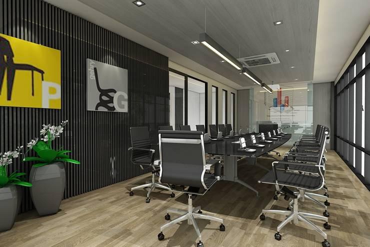 ออกแบบตกแต่งสำนักงาน:  ตกแต่งภายใน by Interior 92 Co.,Ltd.