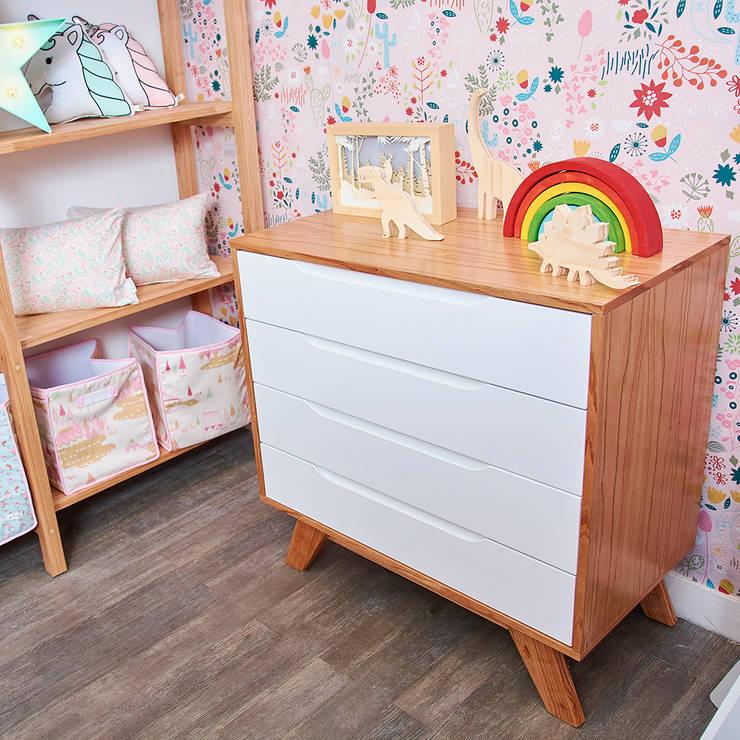 de Minihaus Kids Escandinavo Madera Acabado en madera