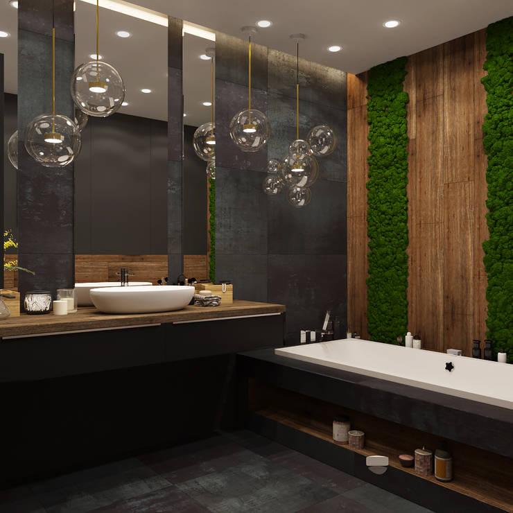 Phòng tắm by Дизайнер интерьера Оксана Васильева