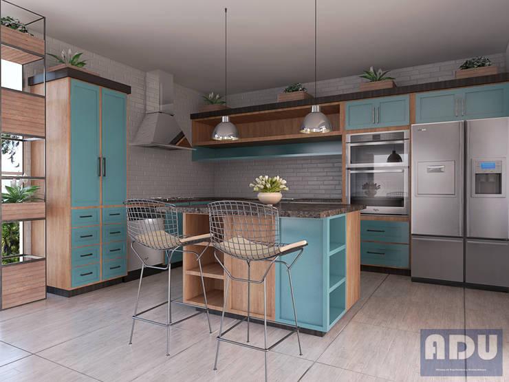 Cocina : Cocinas integrales de estilo  por ADU ARQUITECTOS