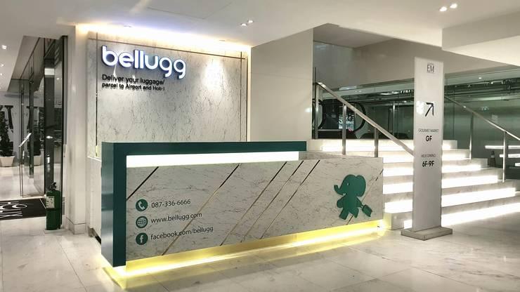 ร้าน Bellugg สาขาเอ็มควอเทียร์:  อาคารสำนักงาน ร้านค้า by PANI CREAT STUDIO CO., LTD.