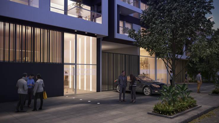 Pb Caballito:  de estilo  por Renders + Arquitectura,
